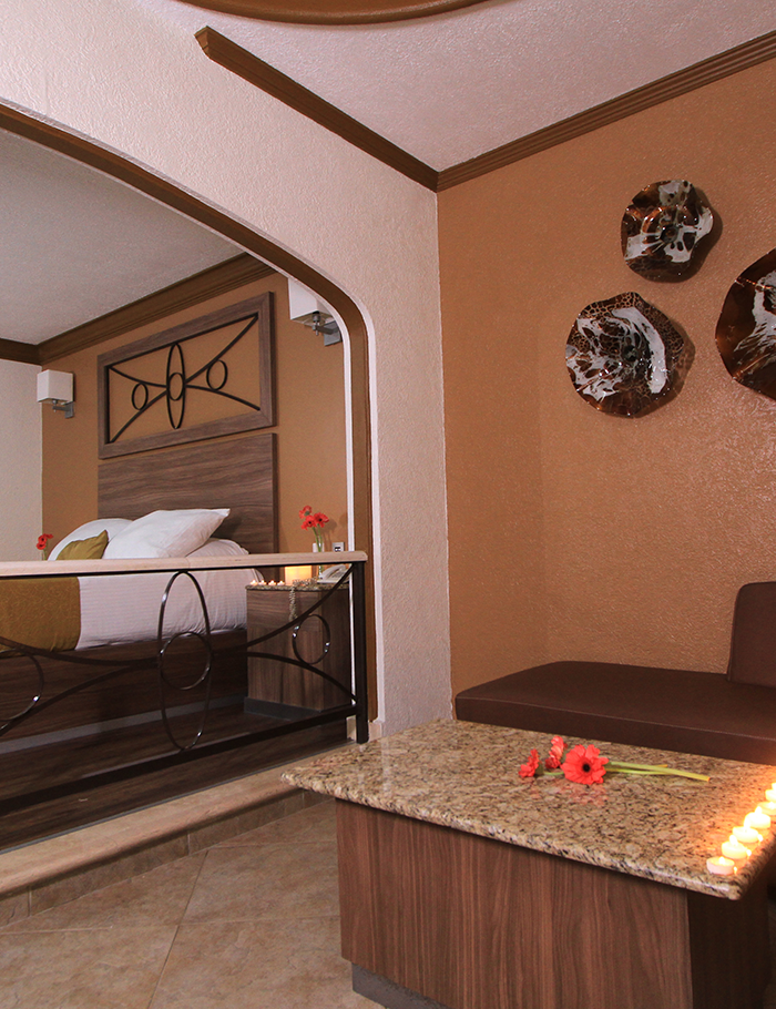 suite villa habitaciones